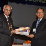 Receiving 2nd Puranchand Gupta Gold Medal (2)